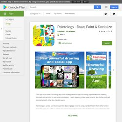 Paintology - Draw, Paint & Socialize - Apps on Google Play