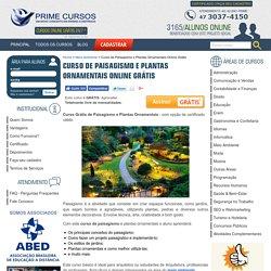 Curso de Paisagismo e Plantas Ornamentais - Cursos Online Grátis