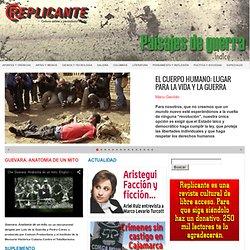 Marzo 2014: Paisajes de guerra : Revista Replicante