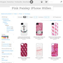Pink Paisley Skin Fürs Iphone 4 von Zazzle