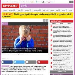 Lapsi jää lohduttomasti itkien päiväkotiin – päiväkodinjohtaja neuvoo: Itke itse vasta ulkona - Perhe