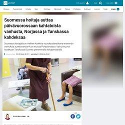 Suomessa hoitaja auttaa päivävuorossaan kahtatoista vanhusta, Norjassa ja Tanskassa kahdeksaa