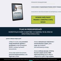 Pakiet Szkoła Językowa - Prawnik przedsiębiorców