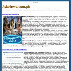 Asia News, Pakistan News , Breaking News 24 Hour News Updates
