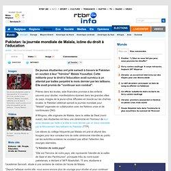 Pakistan: la journée mondiale de Malala, icône du droit à l'éducation