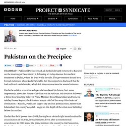 Pakistan on the Precipice - Shahid Javed Burki - Project Syndicate