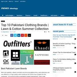Top 10 Pakistani Clothing Brands