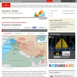 Indian, Pakistani and Chinese border disputes: Fantasy frontiers