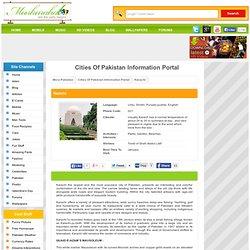 Karachi : Pakistani Citiy Information : Mera Pakistan