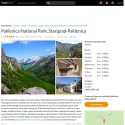 Visit Paklenica National Park on your trip to Starigrad-Paklenica