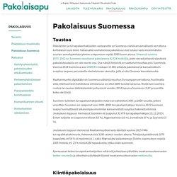Pakolaisuus Suomessa - Suomen Pakolaisapu