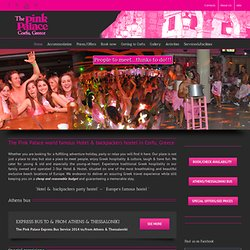 The Pink Palace - World Famous Backpackers 2* Hotel + Hostel