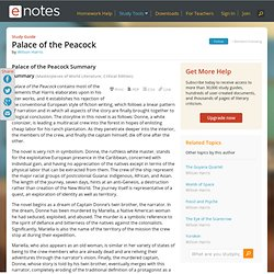 Palace of the Peacock Summary - Wilson Harris - Magill's Survey of World Literature, Revised Edition