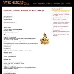Palacio de la Autonomía, Fundación UNAM - 7 y 8 de mayo