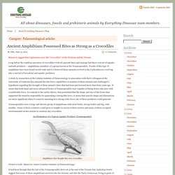 Palaeontological articles - Part 12