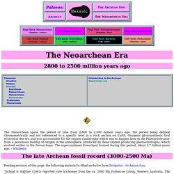 neoarchean