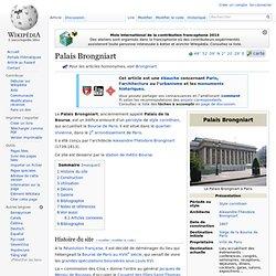 1808 - 1ère Pierre du Palais Brongniart Bourse de Paris