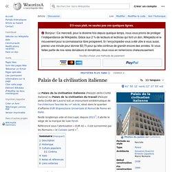 Palais de la civilisation italienne