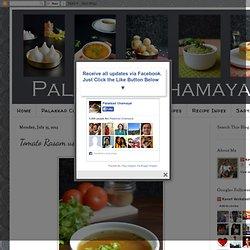 Palakkad Chamayal: Tomato Rasam using Homemade Rasa Podi