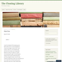 Pale Fire – The Floating Library