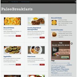 Paleo Breakfast : Recipes for a Paleo Breakfast