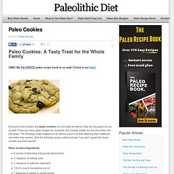 Paleo Cookies That Are Soooo Easy To Make!