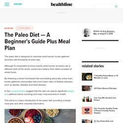 The Paleo Diet - A Beginner's Guide + Meal Plan