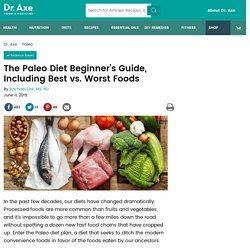 The Paleo Diet Beginner's Guide, Meal Plan and Food List