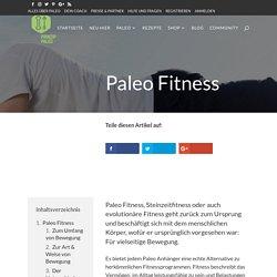 Paleo Fitness - Prinzip Paleo