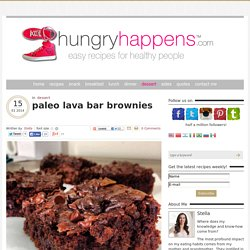 paleo lava bar brownies