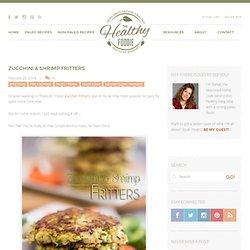 Paleo Zucchini and Shrimp Fritter