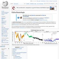Paléoclimatologie
