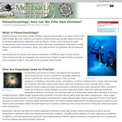 Paleoclimatology: Climate Proxies