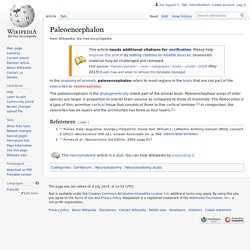 Paleoencephalon - Wikipedia