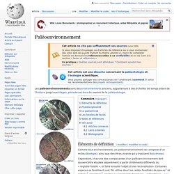 Paléoenvironnement