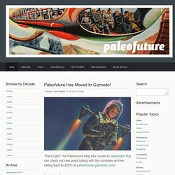 Paleofuture - Paleofuture Blog