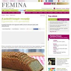 A paleolit kenyér receptje