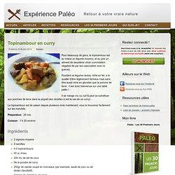 Une recette paléolithique originale : curry de topinambour