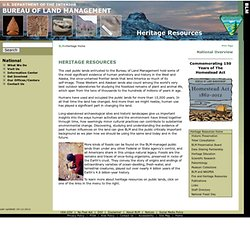 Cultural and Paleontological Resources, and Tribal Consultation
