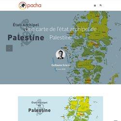 Une carte de l'état archipel de Palestine - Pacha cartographie