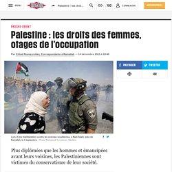 Palestine: les droits des femmes, otages de l'occupation
