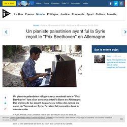 """Un pianiste palestinien ayant fui la Syrie reçoit le """"Prix Beethoven"""" en Allemagne"""