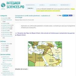 Comprendre le conflit israélo-palestinien : explications et chronologie