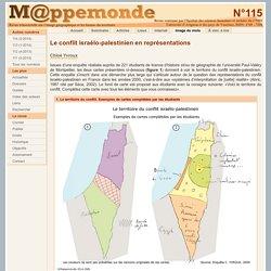 Le conflit israélo-palestinien en représentations