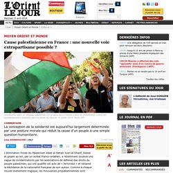 Cause palestinienne en France : une nouvelle voie extrapartisane possible ? - Lina KENNOUCHE