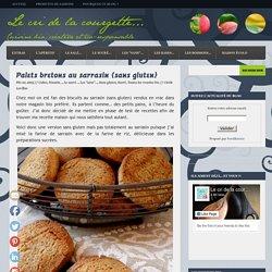 Palets bretons au sarrasin {sans gluten}