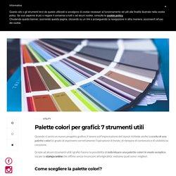 Palette colori per grafici: 7 strumenti utili - Plog