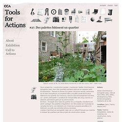 Des palettes bâtissent un quartier | CCA Actions