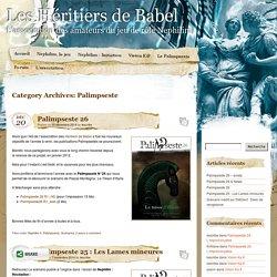 » Palimpseste Les Héritiers de Babel