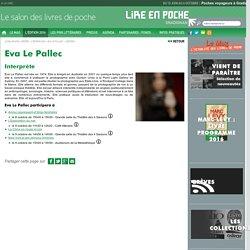 Eva Le Pallec - L'édition 2016 - Lire En Poche